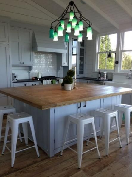 Trendy Kitchen Island With Seating On Two Sides Marbles Ideas Kitchen Island With Seating Kitchen Design Small Kitchen Island Design