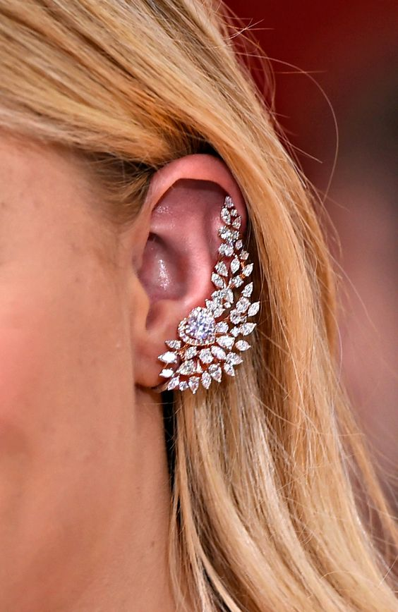 A heart's desire. The Forevermark diamond ear cuff is one of a kind.: