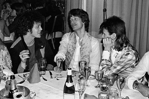 Lou Reed, Mick Jagger and David Bowie