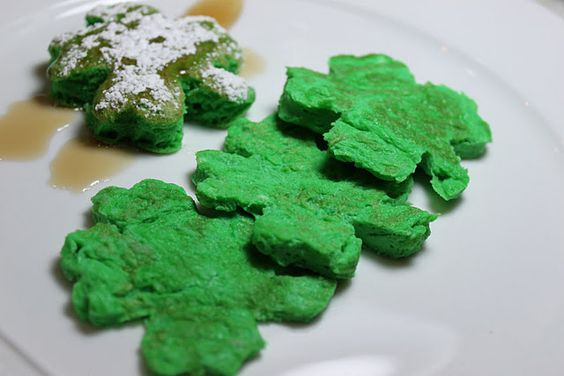 green shamrock eggs: Green Shamrock, St Patrick S, Shamrock Eggs, Patrick S Food, Food Treats