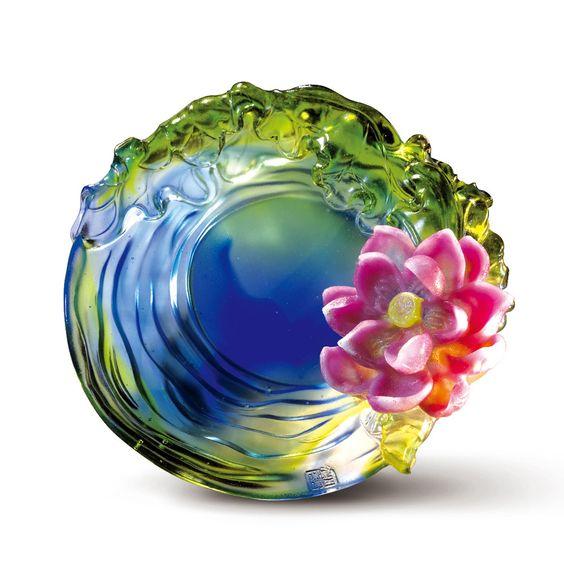 June, Lotus (Purity) - Lotus Flower Figurine
