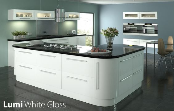 What Colour Worktop With White Gloss Kitchen