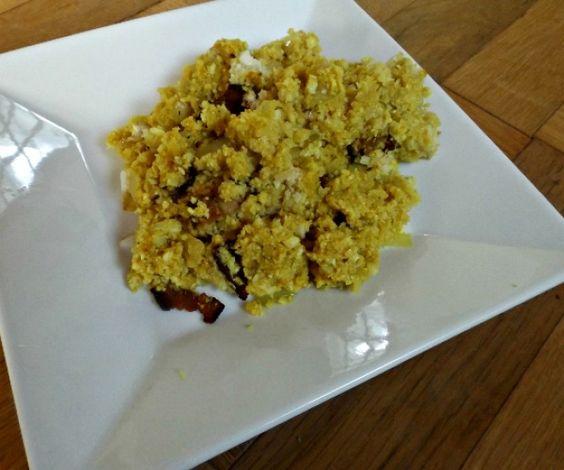 A spicy twist on cauliflower rice