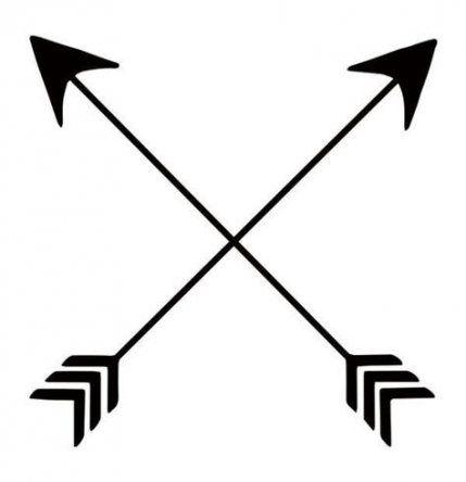 17 Trendy Tattoo Arrow Symbols Native American Arrow Tattoos Friendship Arrow Tattoo Crossed Arrow Tattoos