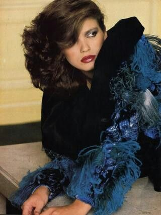 Photo Denis Piel Models Gia Carangi Vogue 1979