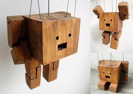 http://cambariere.com/: Robot Wood, Wood Botz, Wood Poppet, Wood Toys, Wood Crapt, Wood Blocks, Rustic Wood