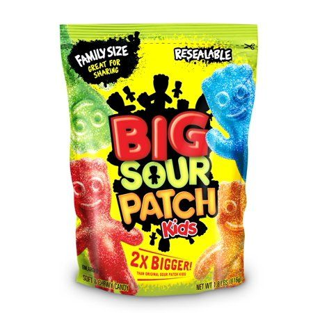 Food In 2020 Sour Patch Kids Chewy Candy Types Of Candy