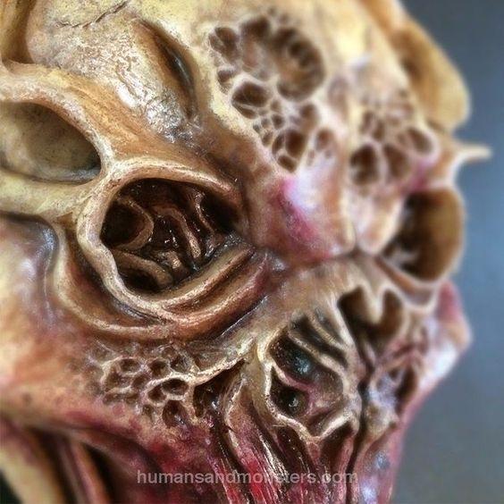 Dummie de espuma de poliuretano. #Sculpey #Monster #CesarPerlop #HumansAndMonsters