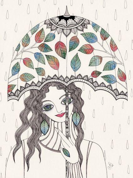 Brushstrokes in the world: Mariya Illustrations Paskovsky