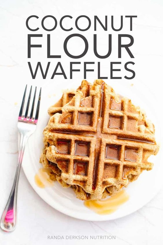 KETO COCONUT FLOUR WAFFLES RECIPE - keto freezer meals