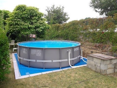 piscine intex piscine tubulaire piscine