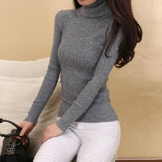 Winter Autumn Womens Cashmere Mohair Sweater Knitwear Casual Tops Loose Blouse