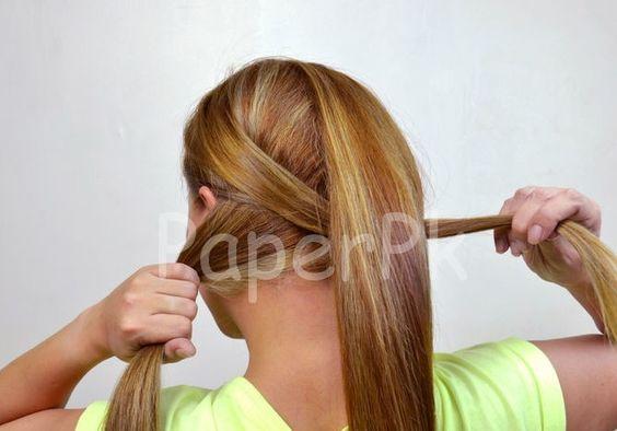 awesome Fishtail Braid Tutorial #Braid #Fishtail #Tutorial