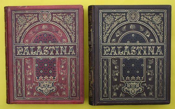 Palästina IN Bild UND Wort 2 Grosse Prachtbände Illustriert 1883 RAR | eBay