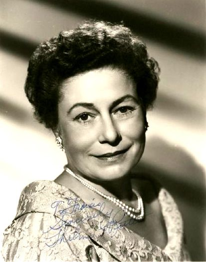 Thelma Ritter -1902-1969 - 45 years old when she made her ...