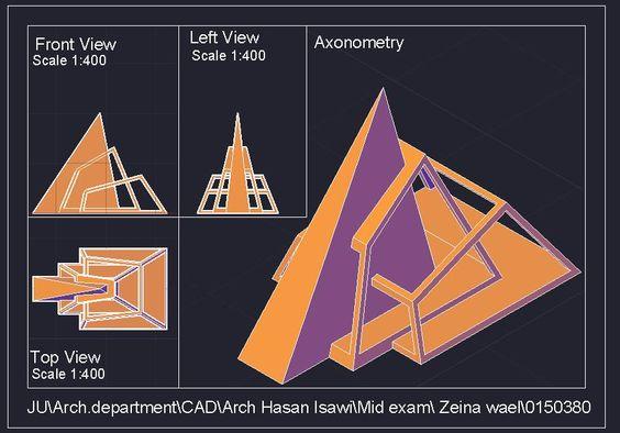 Zeina Abu Gharbiehالرسم المعماري بالحاسوب/ computer architectural drawing: