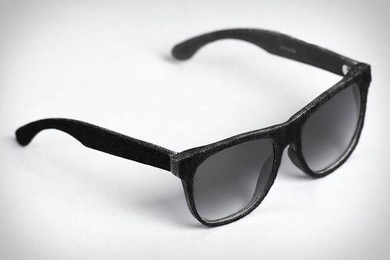 Mosevic Cassini Solid Denim Sunglasses