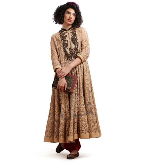 yves saint laurent handbags outlet - The Edith Anarkali by Sabyasachi. This vintage kalidar kurta is ...