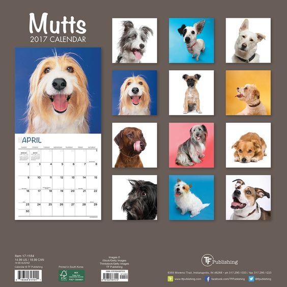 2017 'Mutts' Wall Calendar | Overstock.com Shopping - The Best Deals on Wall…