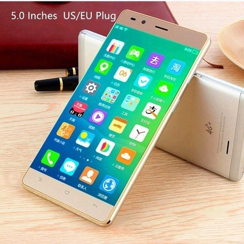 2018 New 5 0 Inch Ultrathin Android6 0 Octa Core Smartphone Dual Camera 4g Wifi Gps Gsm Bluetooth5 1 Dual Sim 1g 1 Unlocked Cell Phones Dual Sim Android Phone