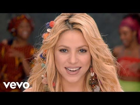 Enjoy Learning English For Free Playing With The Music Videos And Filling In The Lyrics Of Your Favorite Songs Shakira Music Waka Waka Song Time For Africa