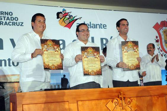 Veracruz Encabeza Duarte hermanamiento Tuxpan-Boca del Río