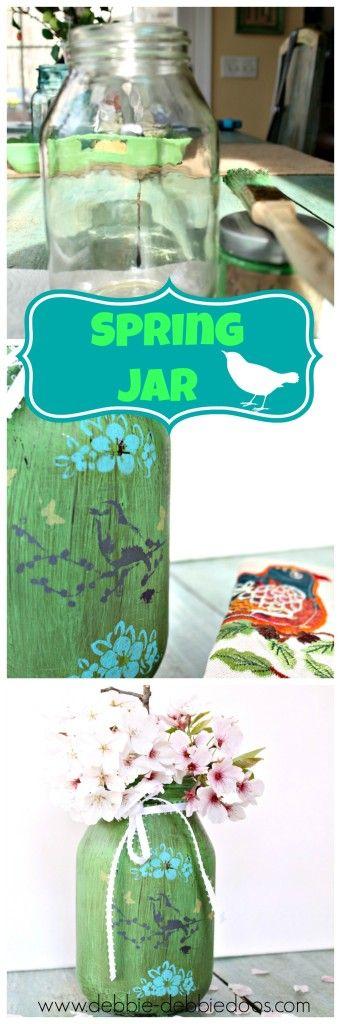 Dollar tree thrifty Spring craft and home decor ideas | Debbiedoos