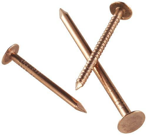 Simpson Strong Tie C611rn5 6d Roofing Tile And Slating Nails 2inch And 11gauge Copper Smooth Shank 5pound 620piece Roofing Nails Copper Compressor Accessories