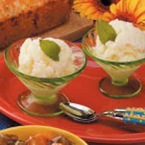 Pineapple Buttermilk Sherbet. No ice cream machine required, but I ...