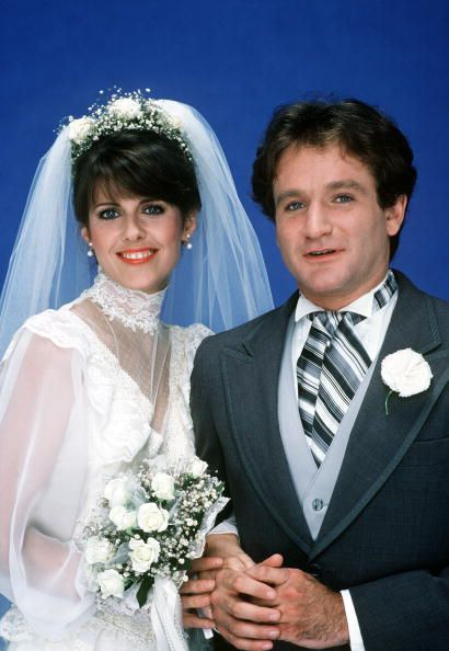 Mork & Mindy: The Wedding' - Season Four, 1981 -  Mindy (Pam Dawber) and Mork (Robin Williams) were finally married., CREDIT: BOB D'AMICO
