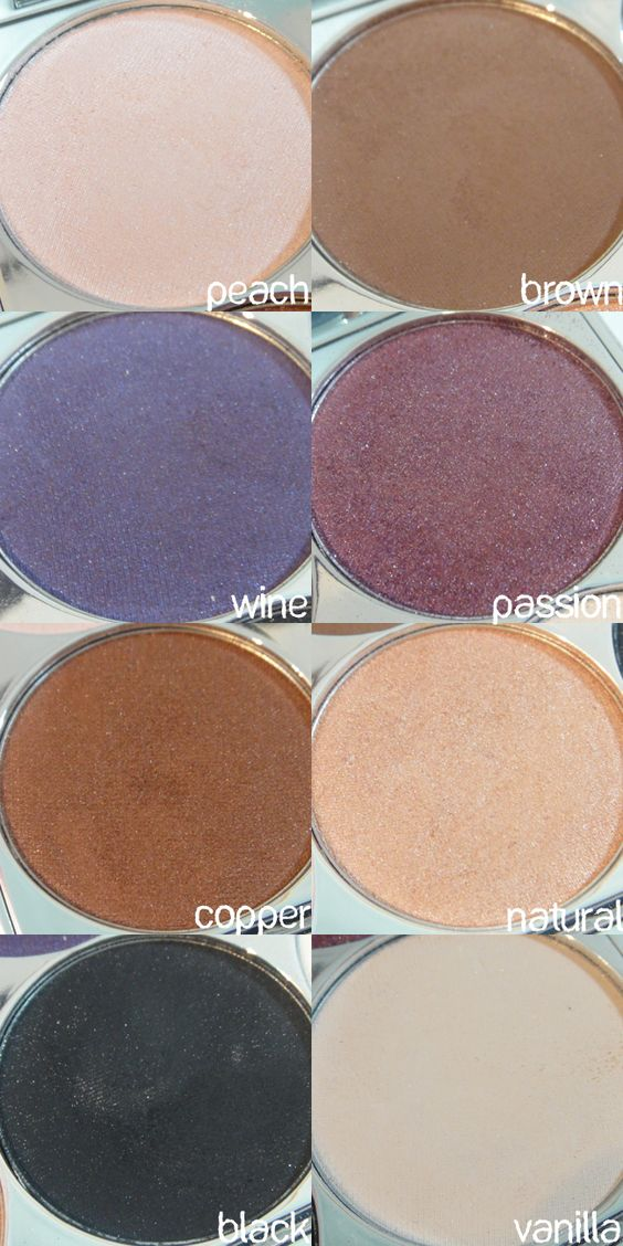 TIGI Bed Head Makeup for Cool People Palette (high density shadows) :: I've been trying to get my hands on this old palette for ages...I saw it on eBay months ago for 28.99 or something & stupidly didn't buy it....grrr!! :: CLICK for pix of the palette $ swatches!