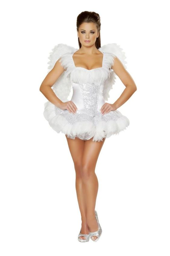 Angel sexy costume this sexy angel costume will stop him in his