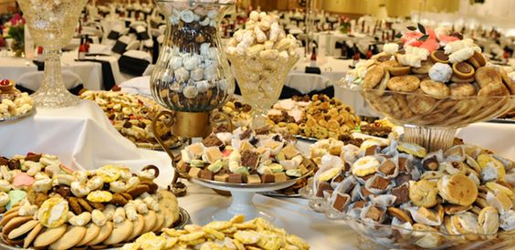 Wedding Traditions – The Pittsburgh Cookie Table. A long time tradition for Burgh Brides, the Pittsburgh Cookie table - some of the yummiest creations you've ever seen end up on these tables, as they are usually baked and brought by family and friends!