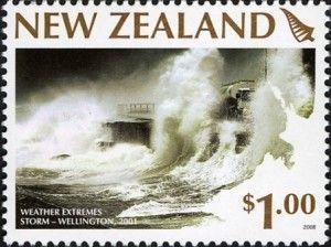 Briefmarke Wasser Neuseeland