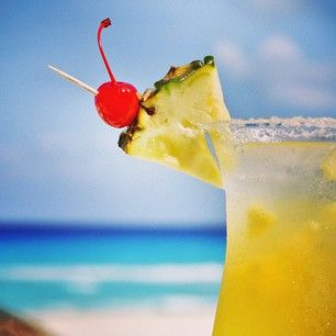 Savor every sip of this Westin Margarita.  #WestinLagunamar #Cancun #Mexico #SVNvacations #ocean #drink #vacation