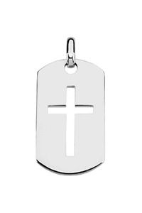Stainless steel black plated dream live believe dog tag pendant sterling silver dog tag cross pendant 24500 httpcelebrateyourfaith aloadofball Gallery