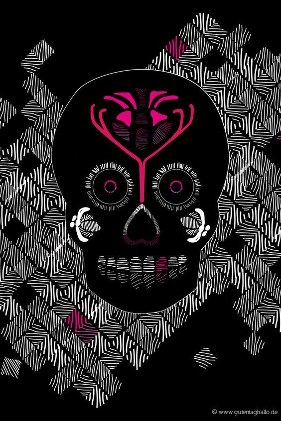 wallpaper additionally sugar skull - photo #38