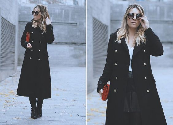 MILITARY COAT WHILE IN MADRID