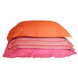 Fair trade and organic cotton pillowcases
