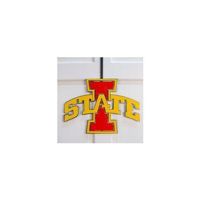 HensonMetalWorks University Collegiate Color Logo Door Hanger NCAA Team: