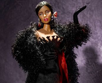 Josephine Baker collection:   http://www.integritytoys.com/page/brands/archive/name:hollywood_royalty/collection:32/doll:58