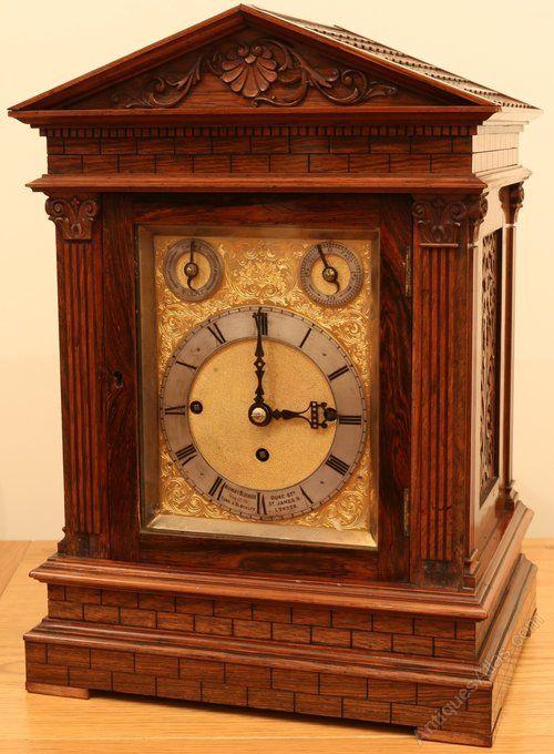Antique Bracket Clocks Miniature