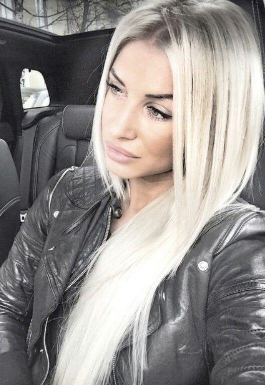 pingl par amanda hammett sur hairmakeup pinterest gris blond platine et cheveux et maquillage - Coloration Platine