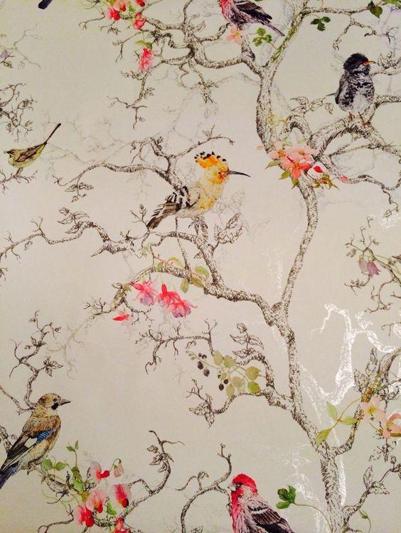 Rt On Twitter In 2021 Plant Wallpaper B Q Wallpaper Gold Wallpaper Bedroom