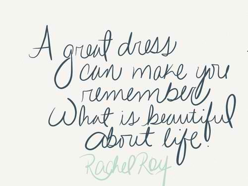 style dress quote lady