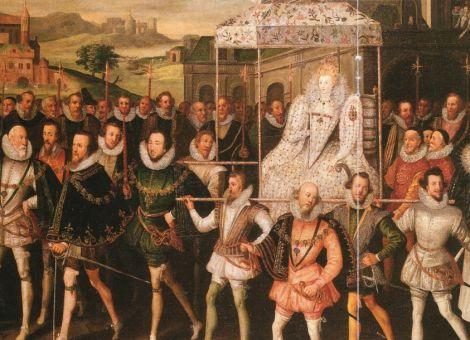 Elizabeth I regeerde 45 jaar als koningin over Engeland en deze periode wordt wel beschouwd als de meest florerende tijd in de Engelse geschiedenis. Elizabeth I maakte een einde aan de hevige religieuze spanningen die haar land in de greep hielden en zij herstelde bovendien de Engelse nationale trots, door de internationale positie van Engeland als politieke en economische macht aanzienlijk te versterken
