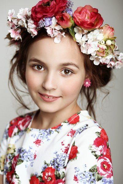 Модни деца.  Блоги.  Руски момиче в традиционна рокля .: