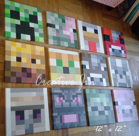 Painting Ideas For Boys Rooms: Boys, Game And Minecraft Bedroom On Pinterest