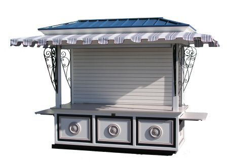 Our outdoor carts and kiosks are specially made to for Exterior kiosk design
