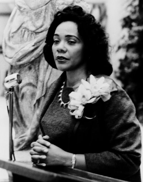 "CORETTA SCOTT KING - ""I came to the realization that we had been thrust into the forefront of a movement to liberate oppressed people, not only in Montgomery but also throughout our country, & this movement had worldwide implications. I felt blessed to have been called to be a part of such a noble and historic cause."":"